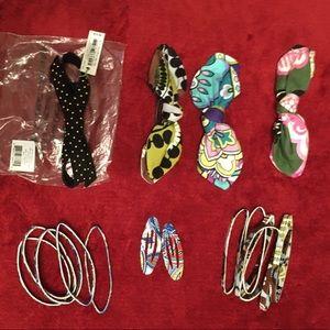 Vera Bradley hair accessory bundle